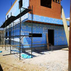 Construction Of A Timber Frame House