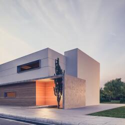 Energy Efficiency Wooden Prefabricated Houses